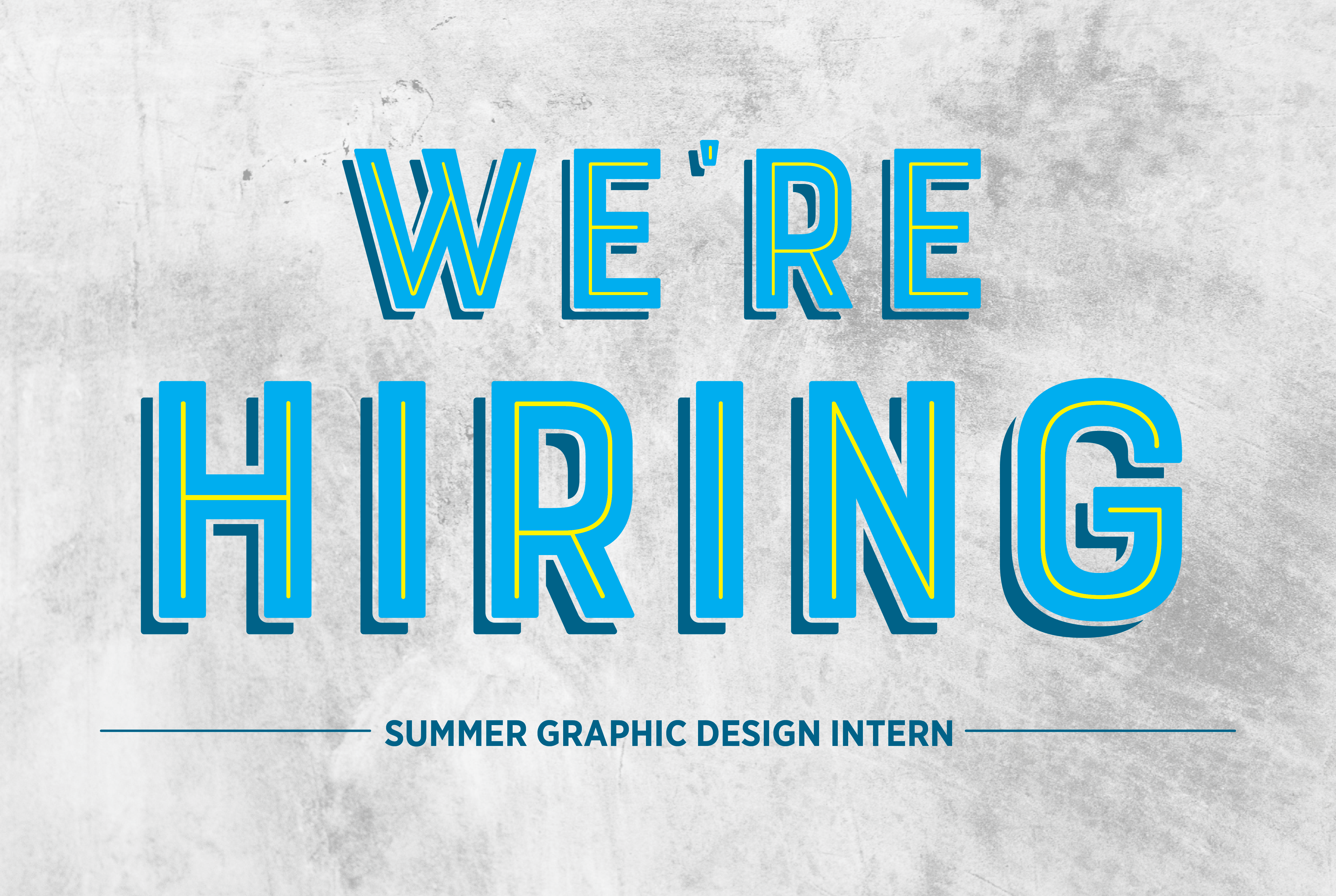 2020 Graphic Design Internship