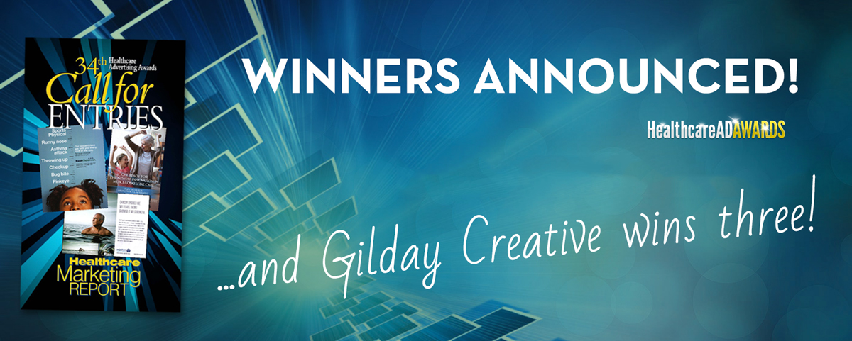 Gilday Creative wins Design Awards