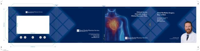 Specialized Creative Design for LCD Video Brochure for Cardiothoracic Surgeon Erik Beyer