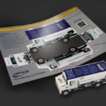 Amthor International Direct mail that folds into a truck