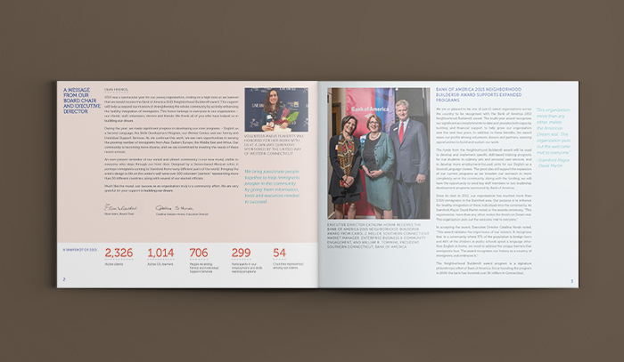 Building One Community 2015 Annual Report Mockup