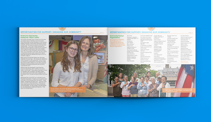 Building One Community 2017 Annual Report Mockup