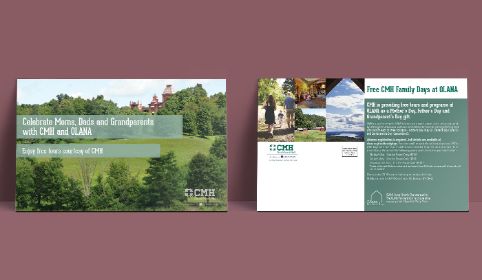 Columbia Memorial Health postcard mockups