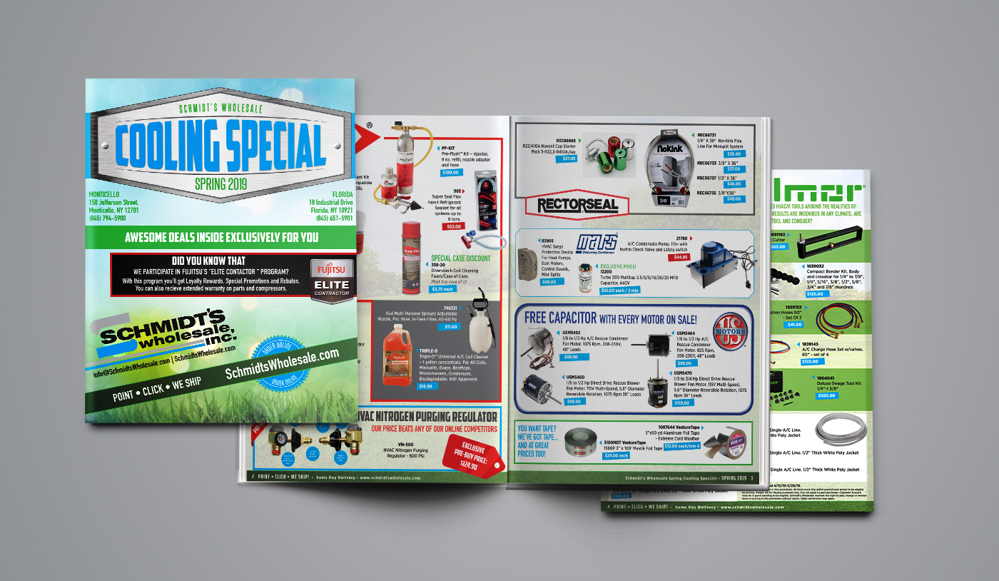 Schmidts Wholesale Magazine, Spring Cooling special