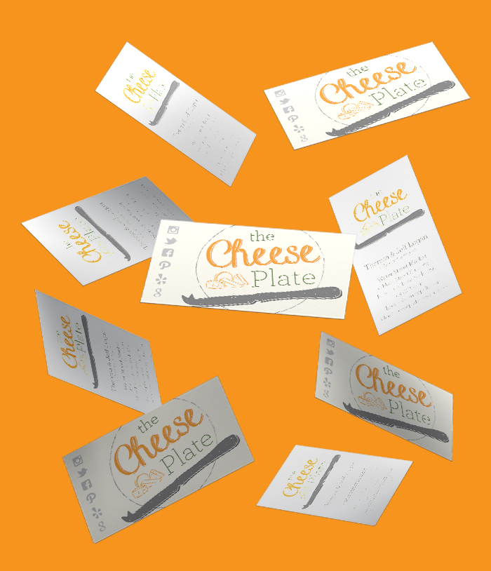 The Cheese Plate Business Card Mockup