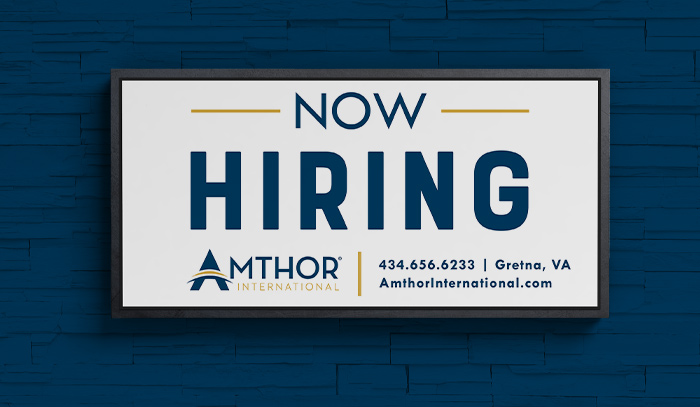 Amthor Project: Now Hiring