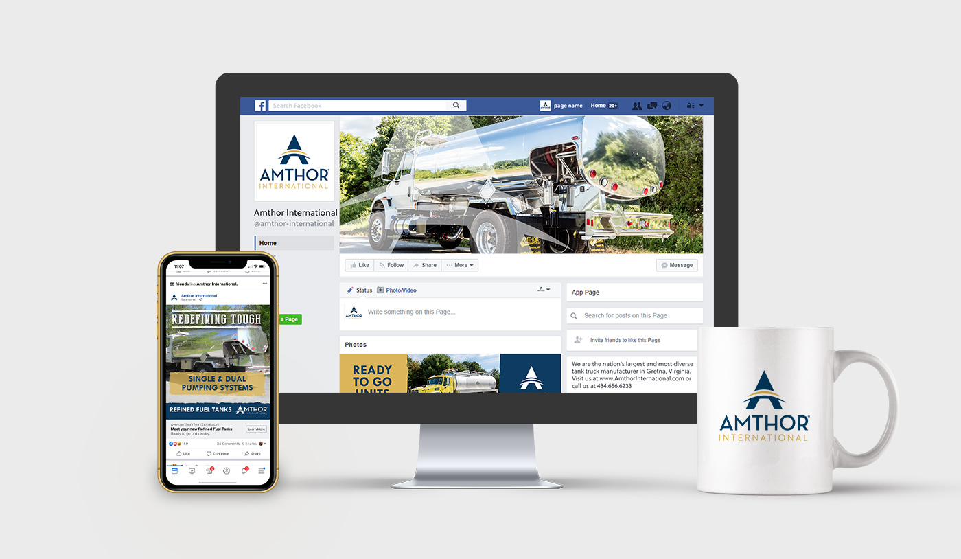 Amthor Project: social media branding