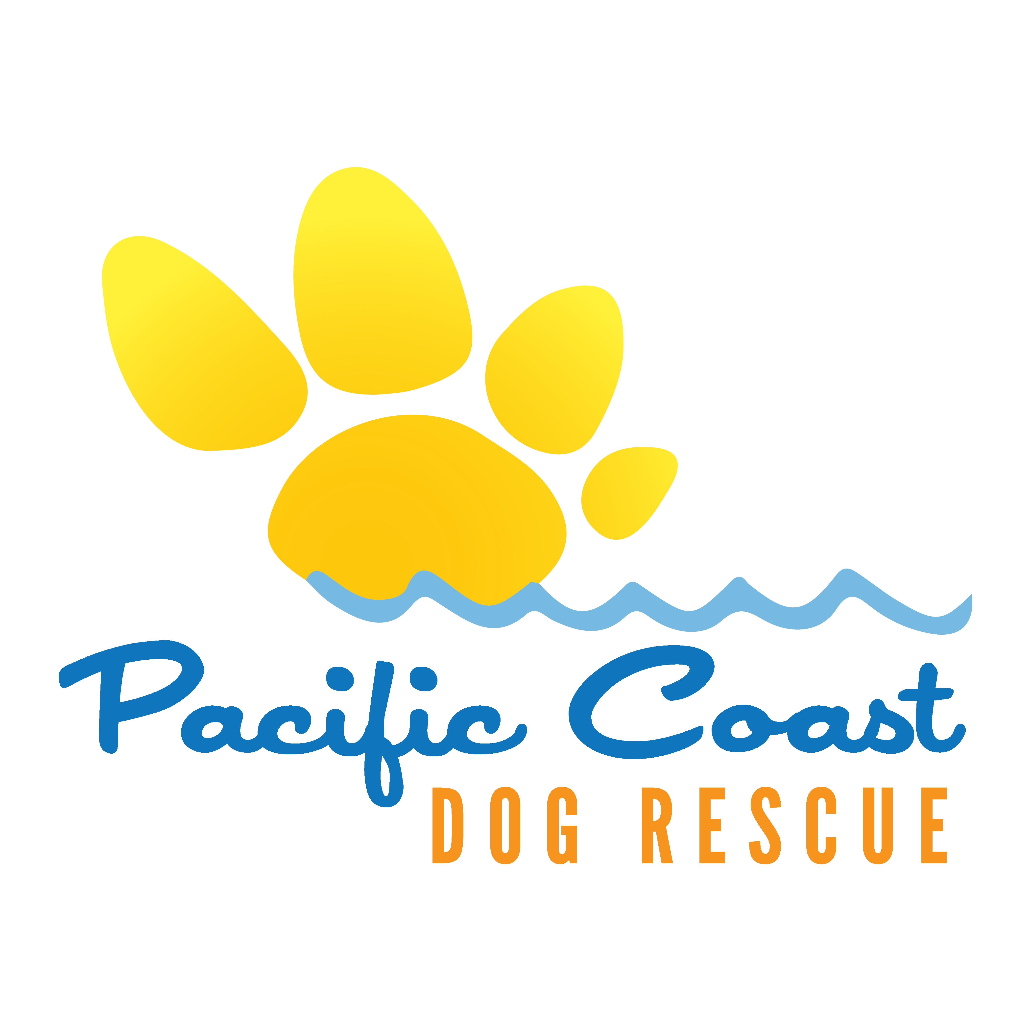 Pacific Coast Dog Rescue Logo