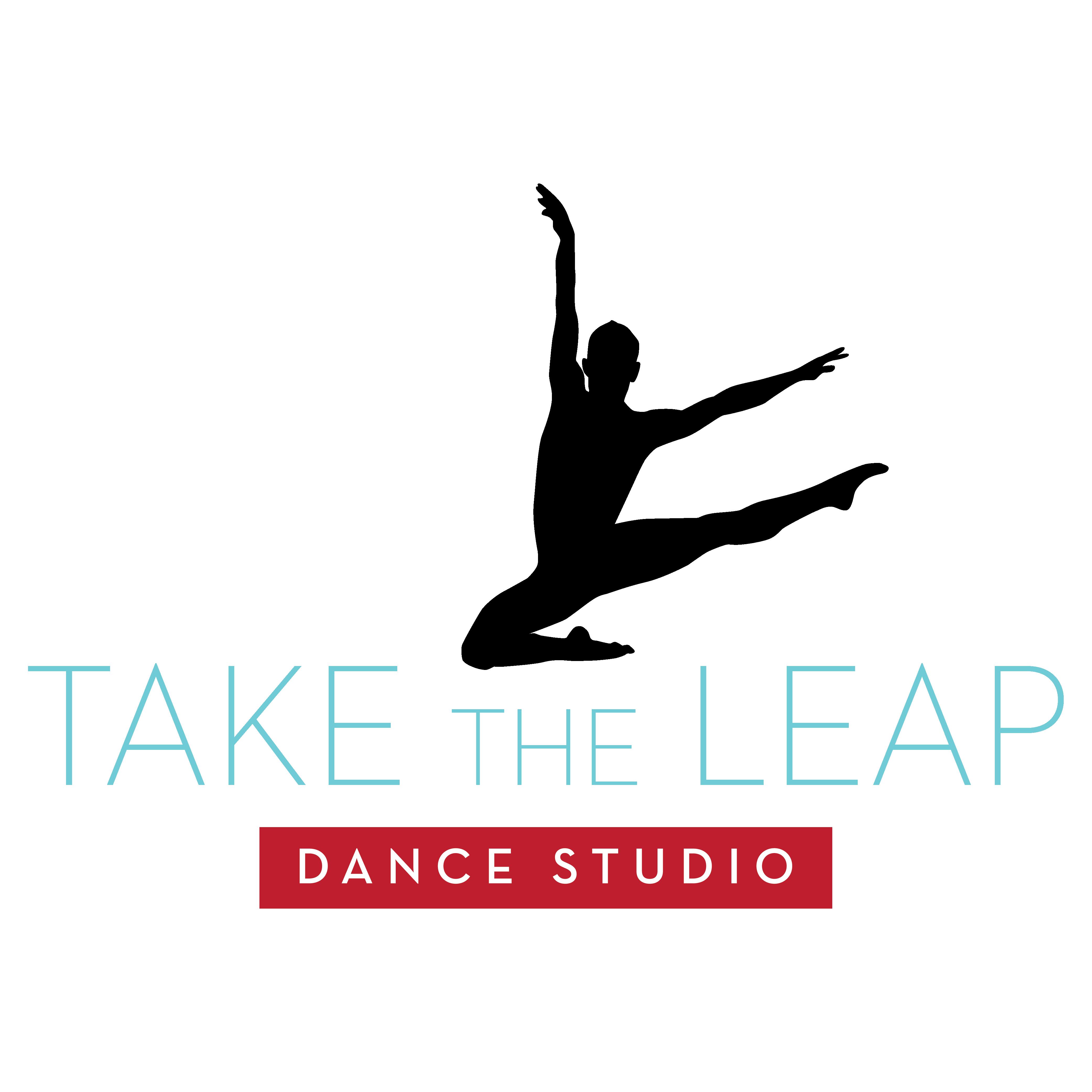 Take the Leap Dance Studio Logo