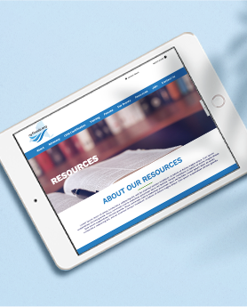 New York Floods Ipad website GIF mockup